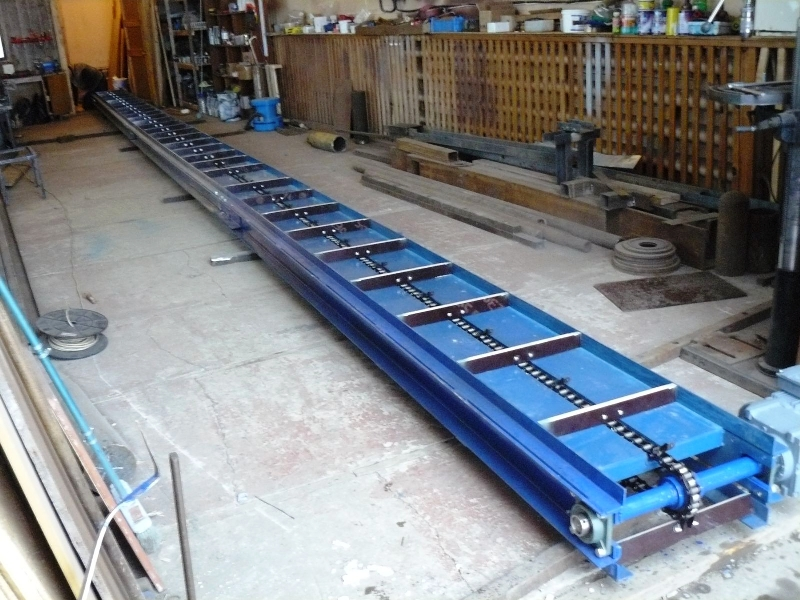 По какому принципу работают скребковые транспортеры очистительные устройства для конвейеров